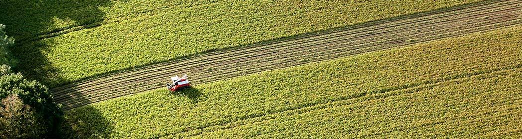 Landwirtschaft-Flugdrohne-Luftaufnahmen