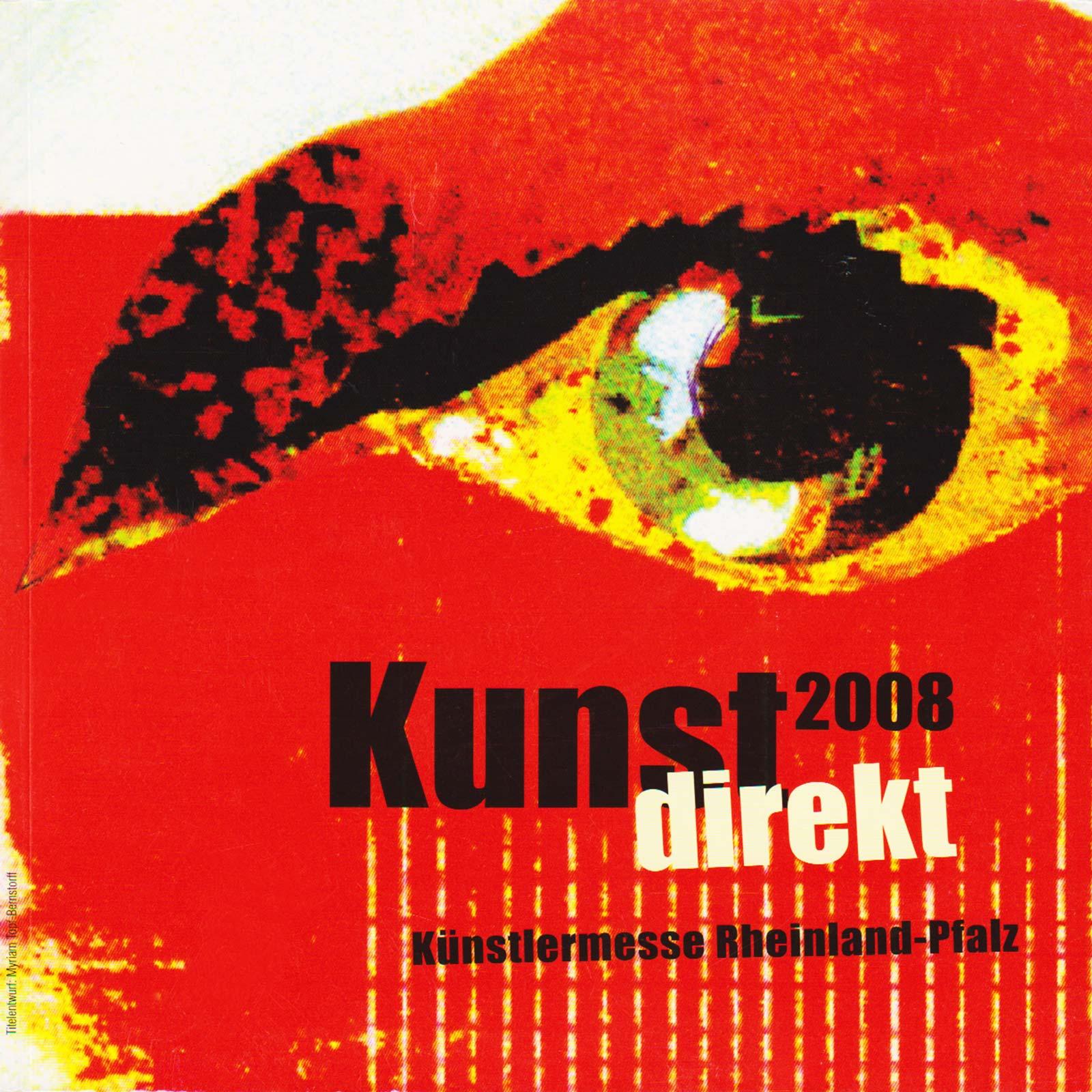 Stand auf der Kunstmesse Mainz 2008.